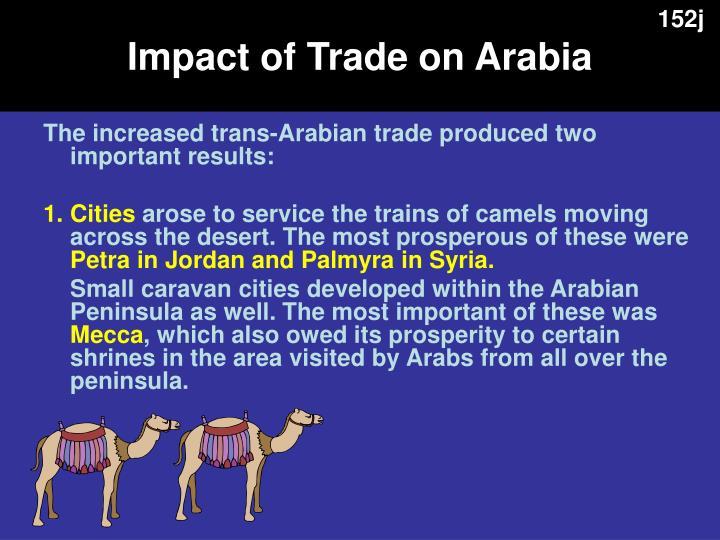 Impact of Trade on Arabia