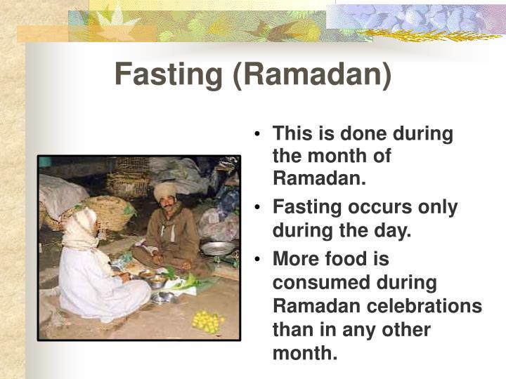 Fasting (Ramadan)