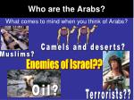 who are the arabs