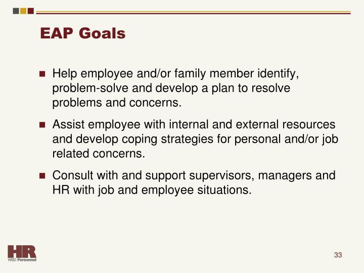 EAP Goals