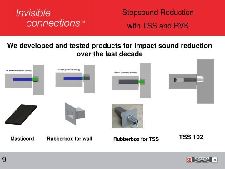 Stepsound Reduction
