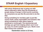 staar english i expository5