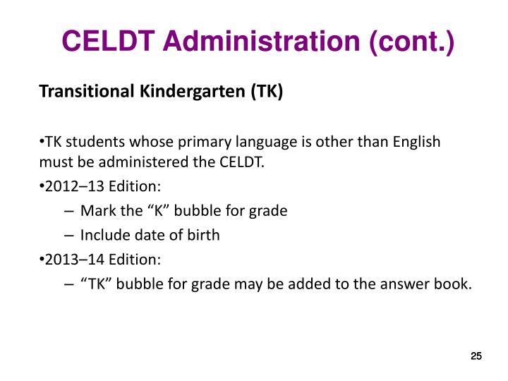 Transitional Kindergarten (TK)