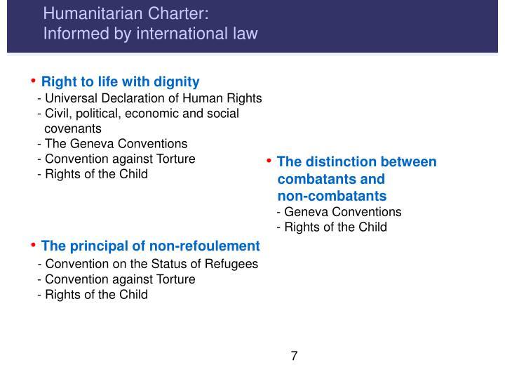 Humanitarian Charter: