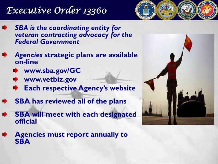 Executive Order 13360
