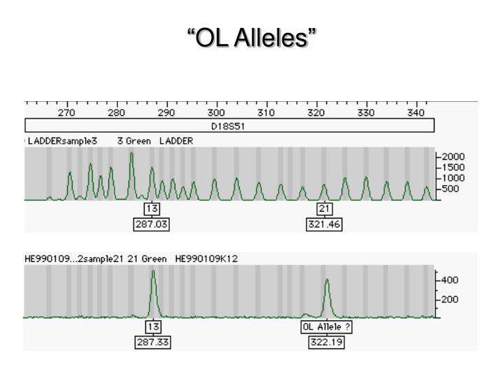 """""""OL Alleles"""""""