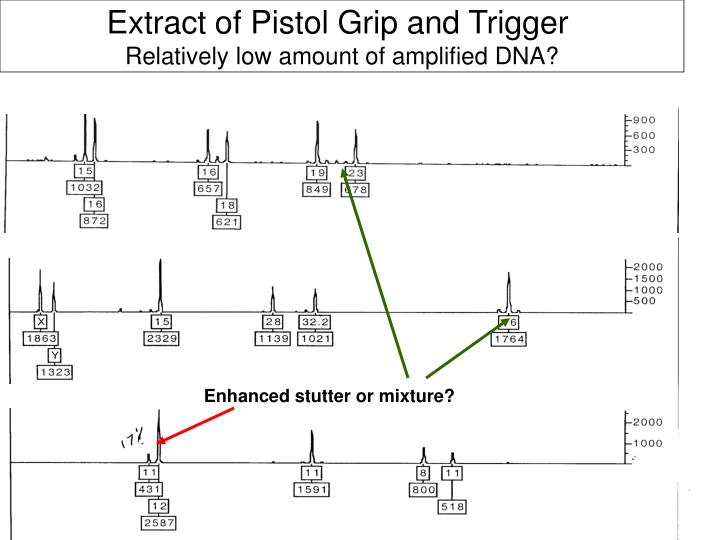 Extract of Pistol Grip and Trigger