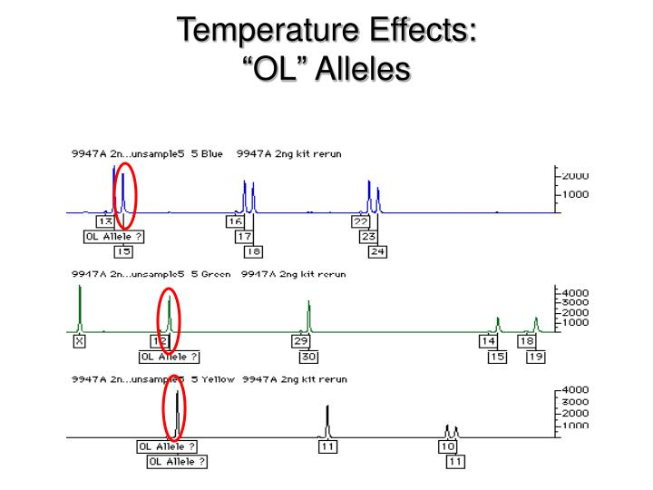 Temperature Effects: