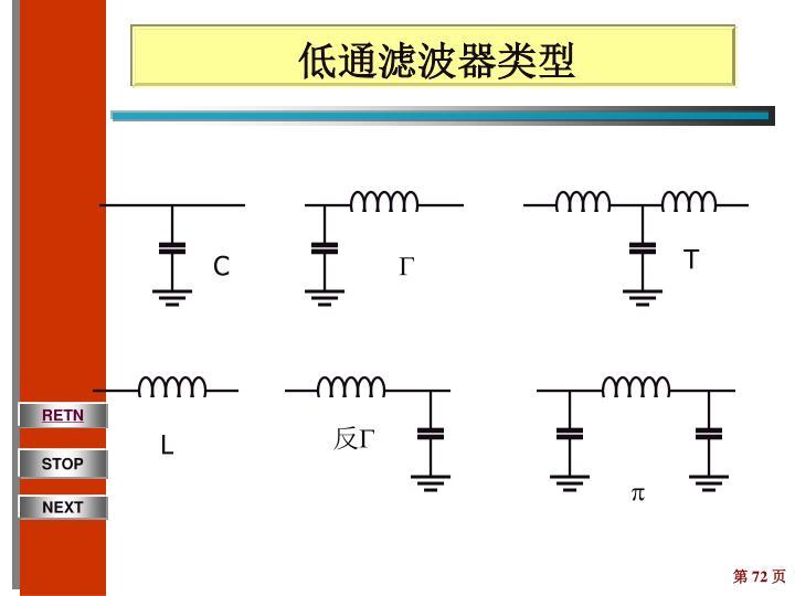 低通滤波器类型