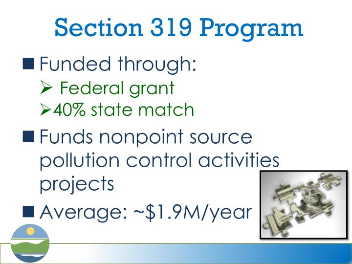 Section 319 Program
