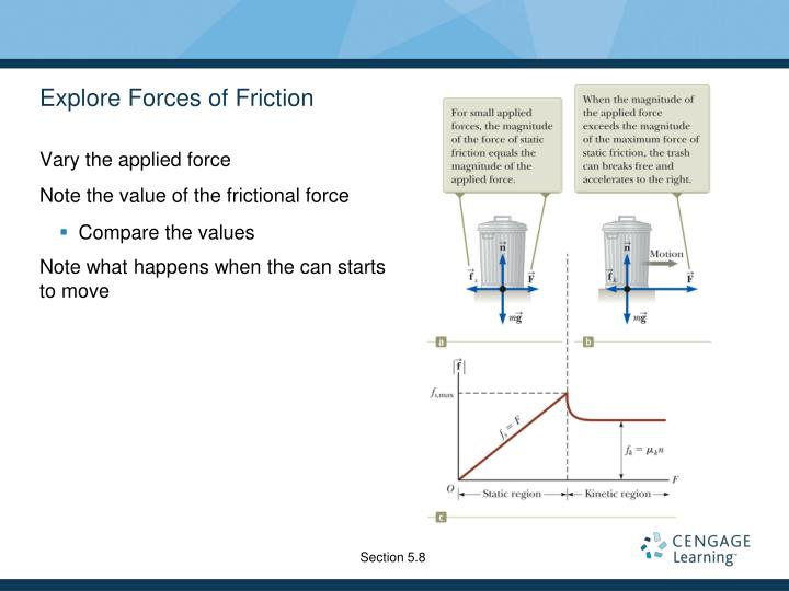 Explore Forces of Friction