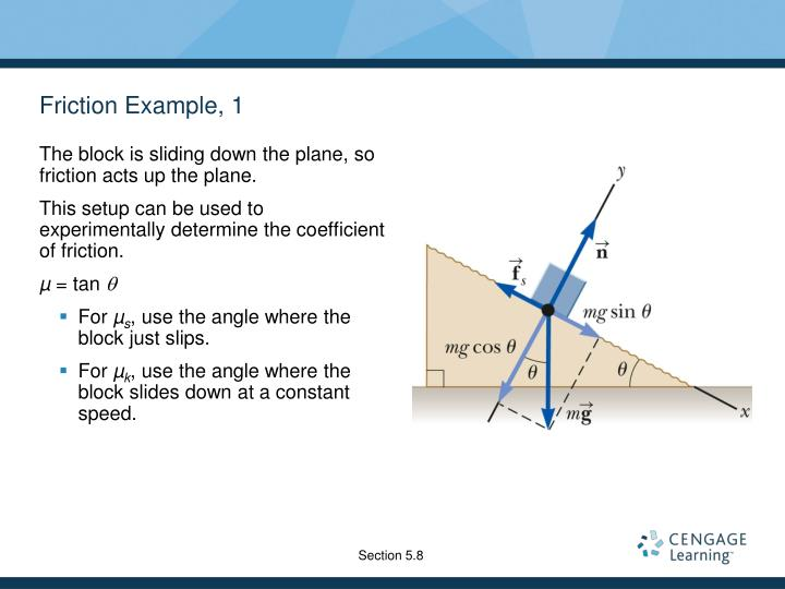 Friction Example, 1