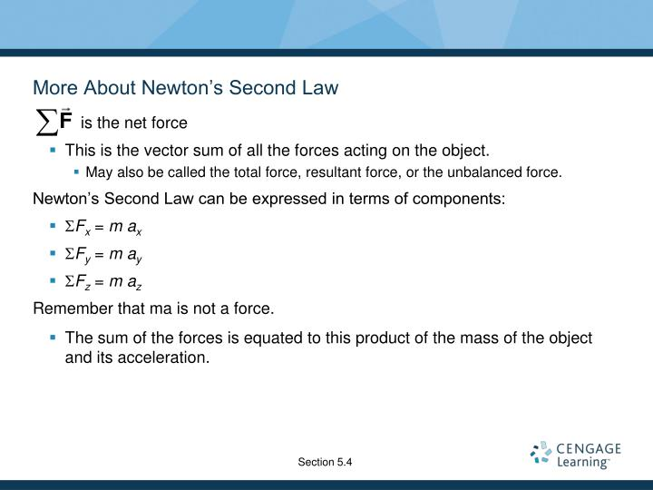 is the net force
