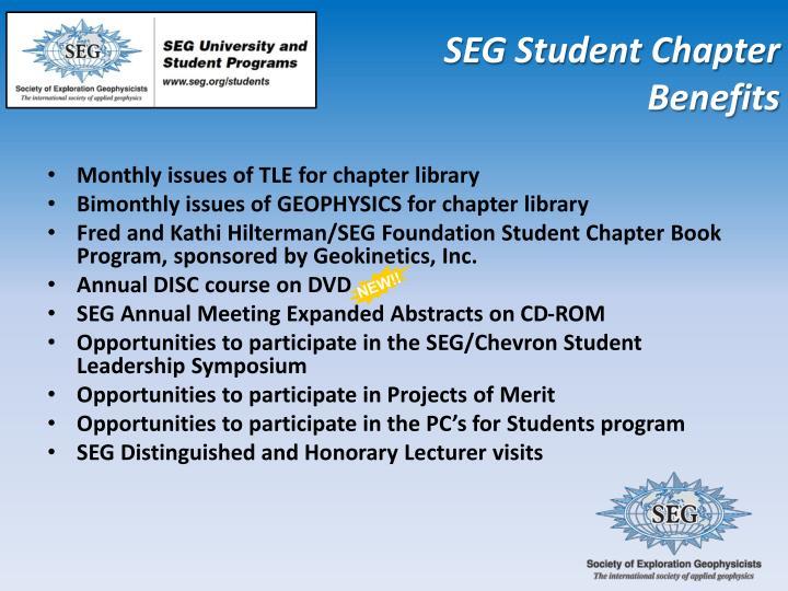 SEG Student Chapter