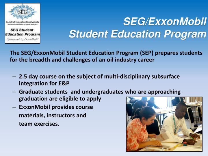 SEG/ExxonMobil