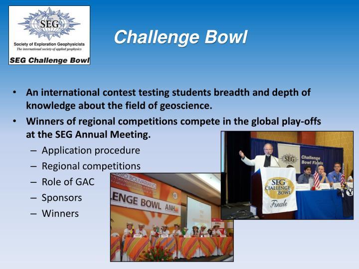 Challenge Bowl