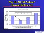 why the 2q oil problem demand falls in 2q