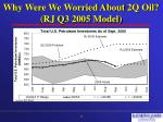 why were we worried about 2q oil rj q3 2005 model