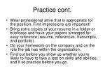 practice cont