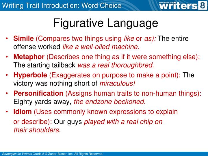 Writing Trait Introduction: Word Choice
