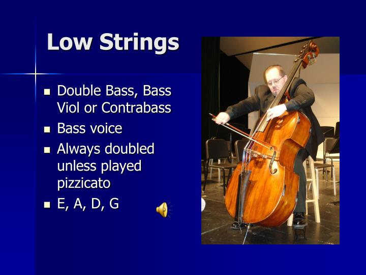 Low Strings