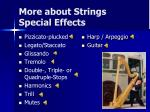 more about strings special effects