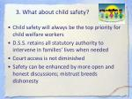 3 what about child safety