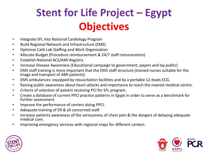 Stent for Life Project – Egypt