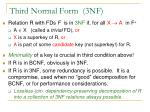 third normal form 3nf