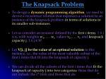 the knapsack problem1