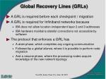 global recovery lines grls