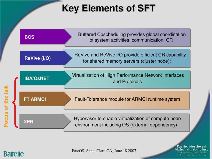 Key Elements of SFT