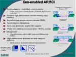 xen enabled armci