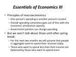 essentials of economics iii