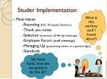 studer implementation2