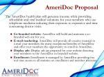 ameridoc proposal