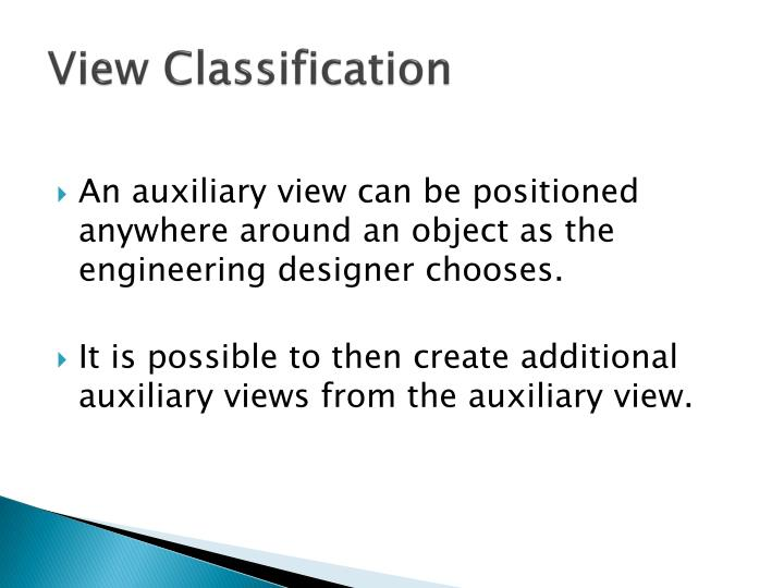 View Classification