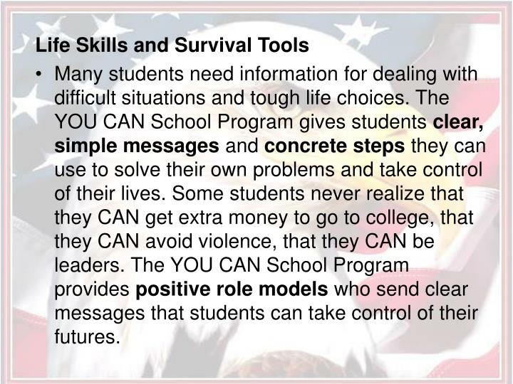 Life Skills and Survival Tools