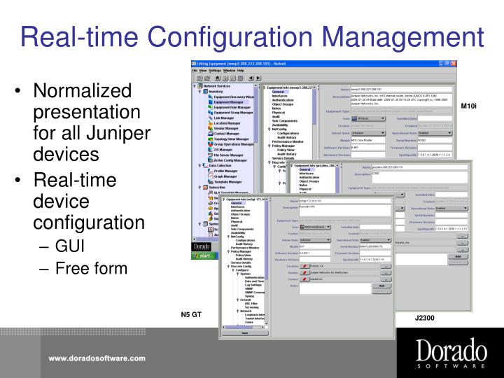 Real-time Configuration Management