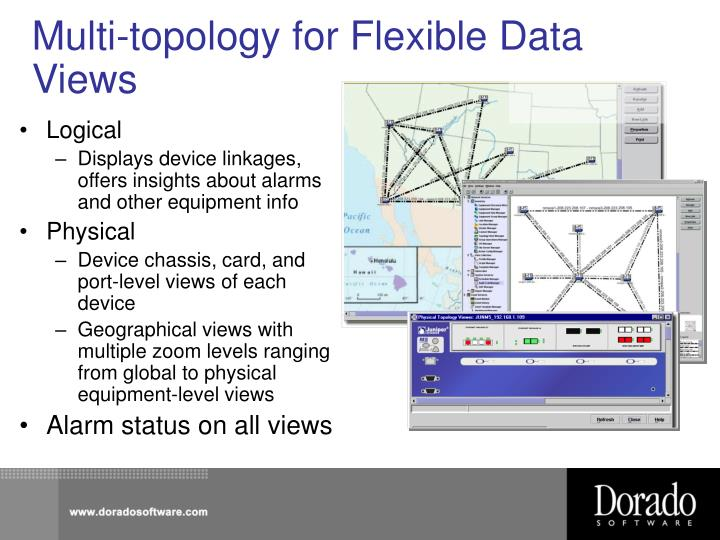 Multi-topology for Flexible Data Views