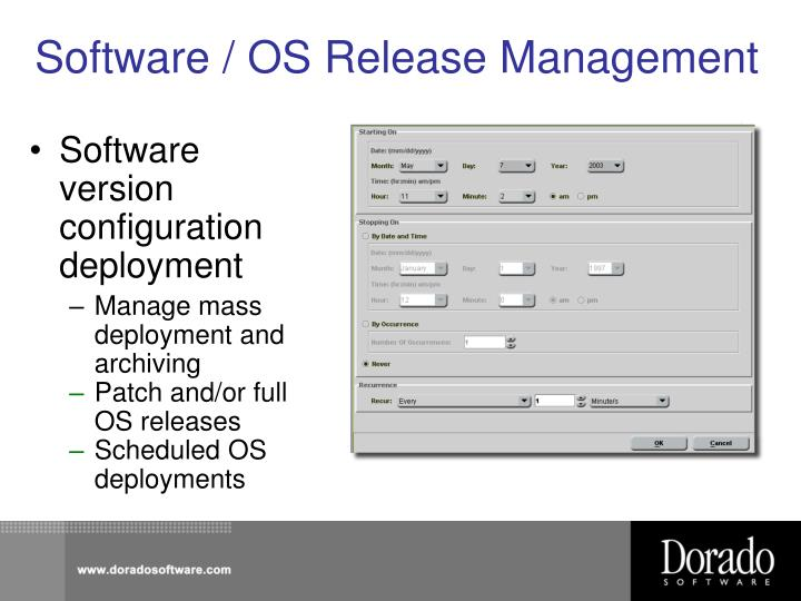 Software / OS Release Management