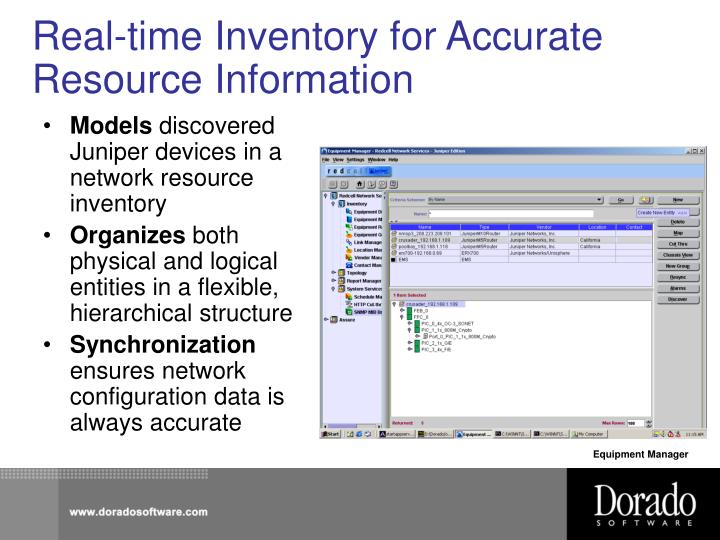 Real-time Inventory for Accurate Resource Information