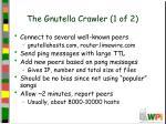 the gnutella crawler 1 of 2