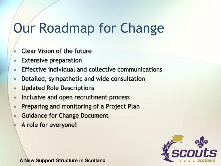 Our Roadmap for Change