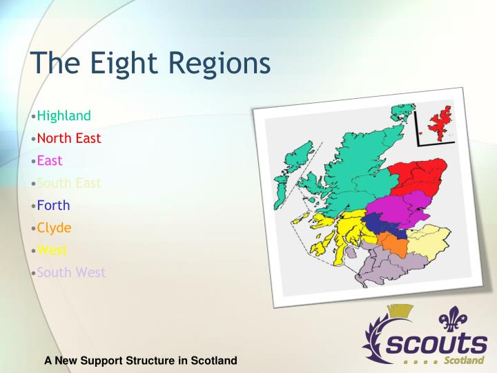 The Eight Regions