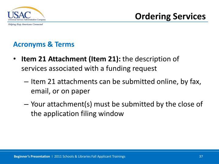 Item 21 Attachment (Item 21):