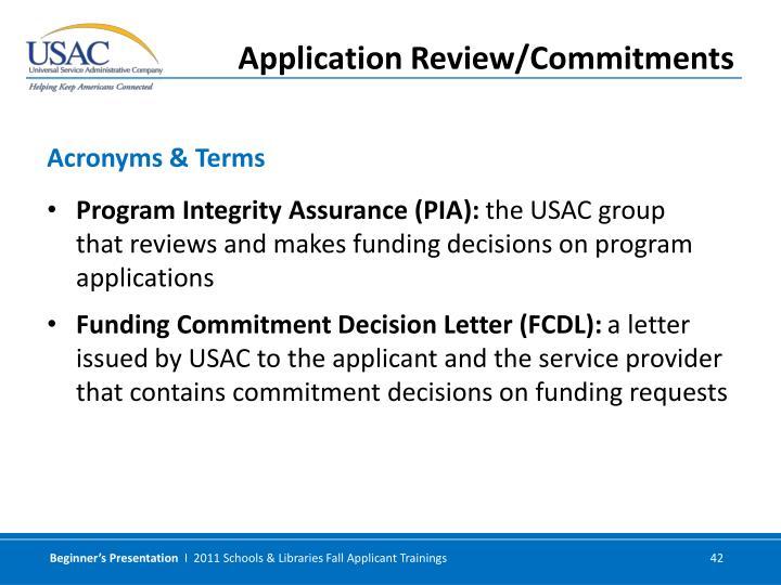Program Integrity Assurance (PIA):