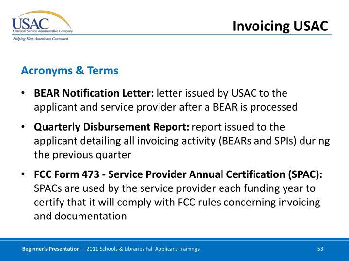 BEAR Notification Letter: