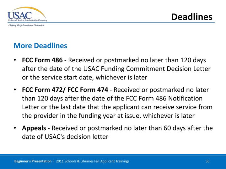FCC Form 486