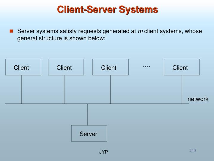 Server systems satisfy requests generated at